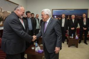 Biskupe je primio i Palestinski predsjednik Mahmoud Abbas 15. 09. 2015.